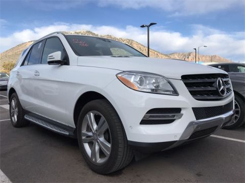 Used 2015 Mercedes-Benz M-Class ML 350 Rear Wheel Drive SUV