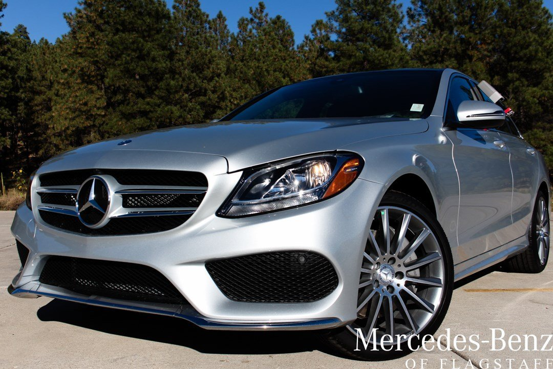 New 2016 mercedes benz c class c 300 sport sedan in for Mercedes benz of flagstaff