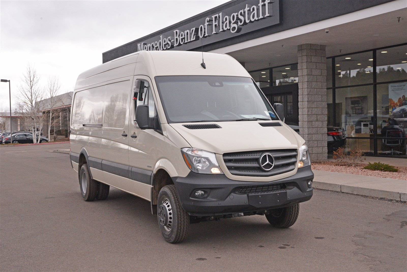 New 2016 mercedes benz sprinter 3500 chassis cab cargo van for Mercedes benz of flagstaff
