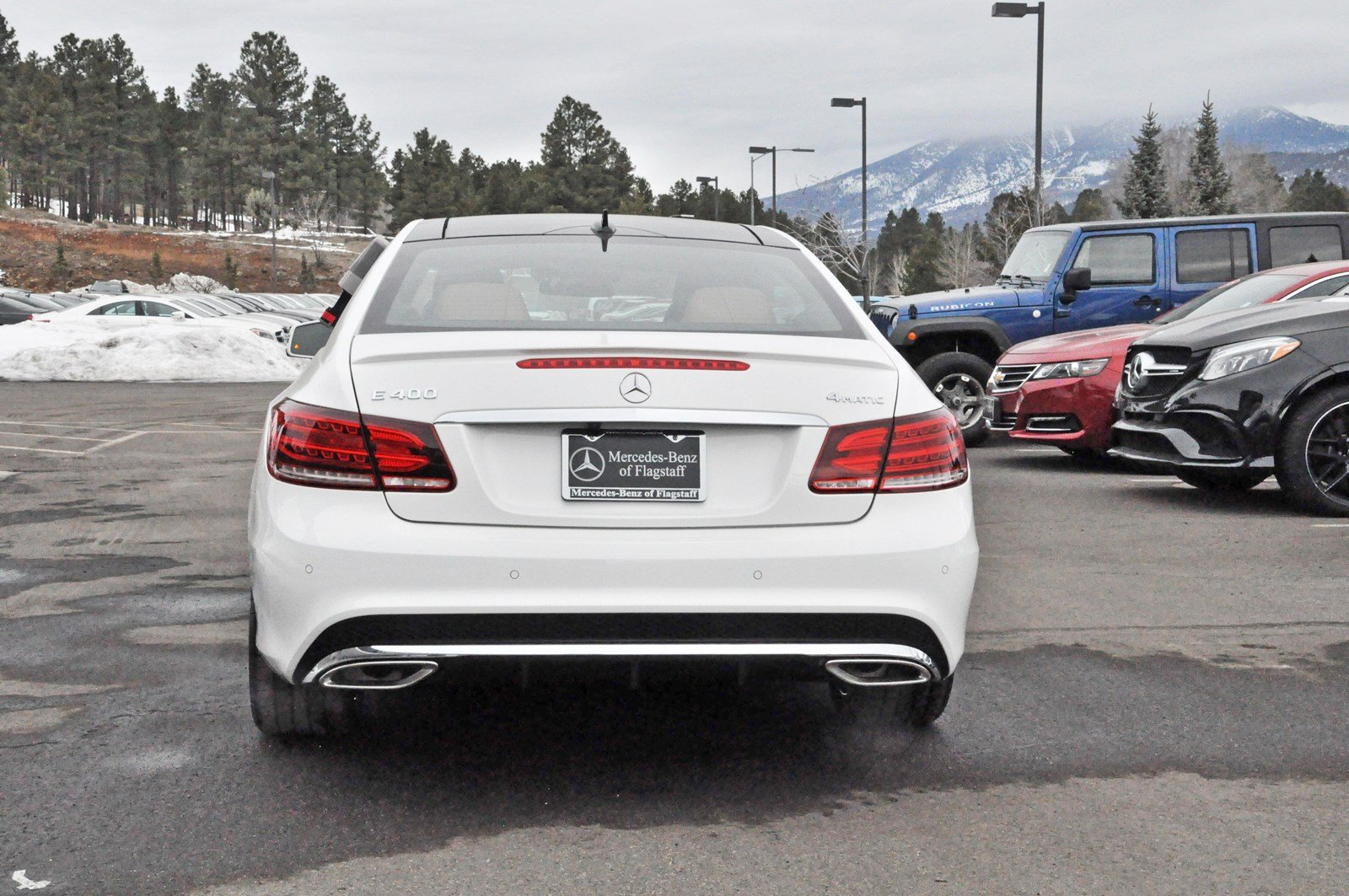 New 2017 mercedes benz e class e 400 sport coupe in for Mercedes benz of flagstaff