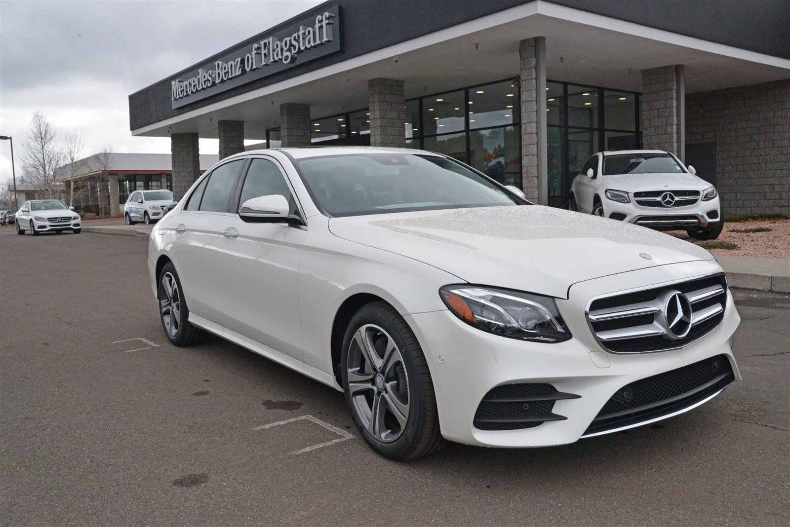 New 2017 mercedes benz e class e 300 sport sedan in for Mercedes benz of flagstaff