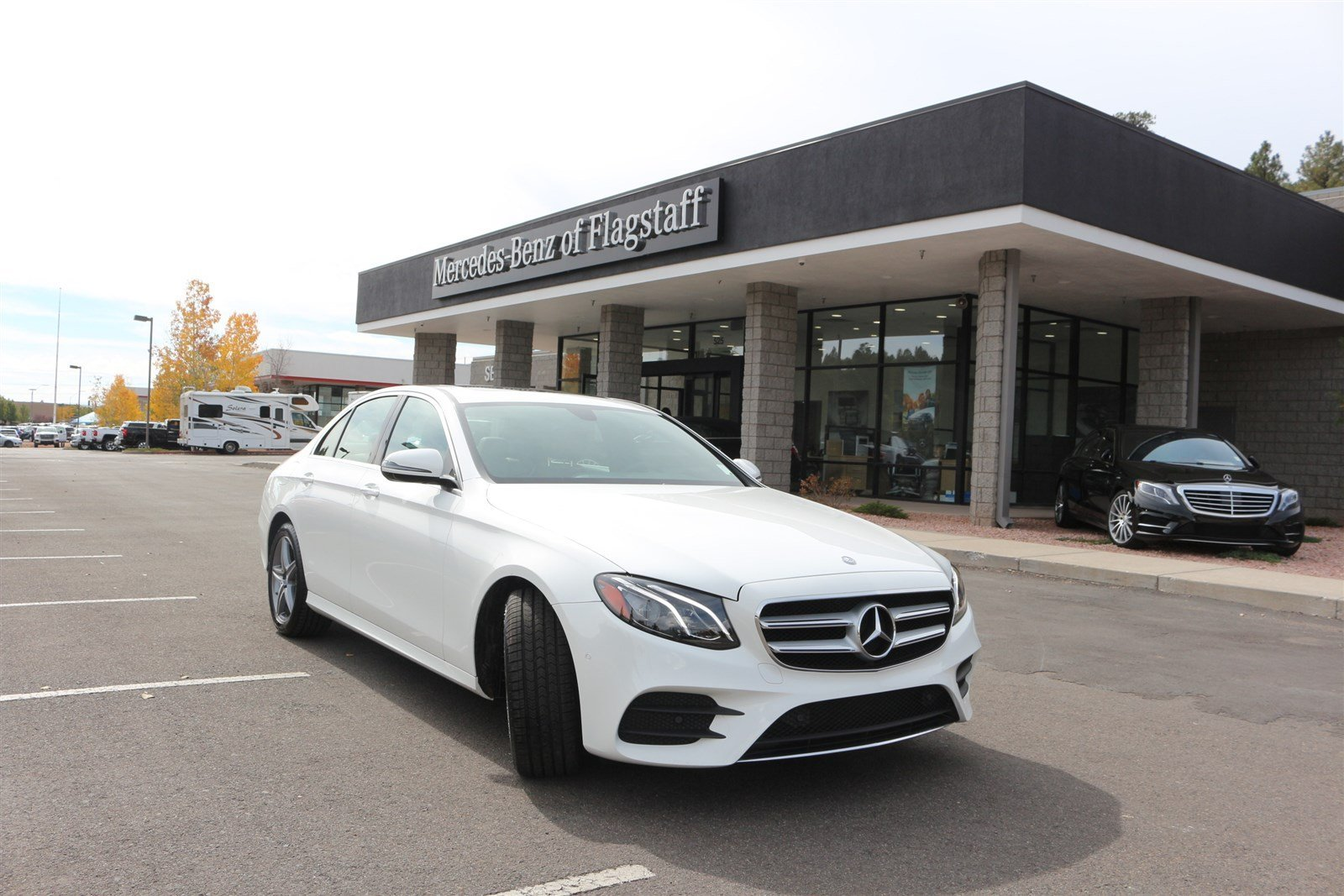 New 2017 mercedes benz e class e 300 sedan in flagstaff for Mercedes benz of flagstaff