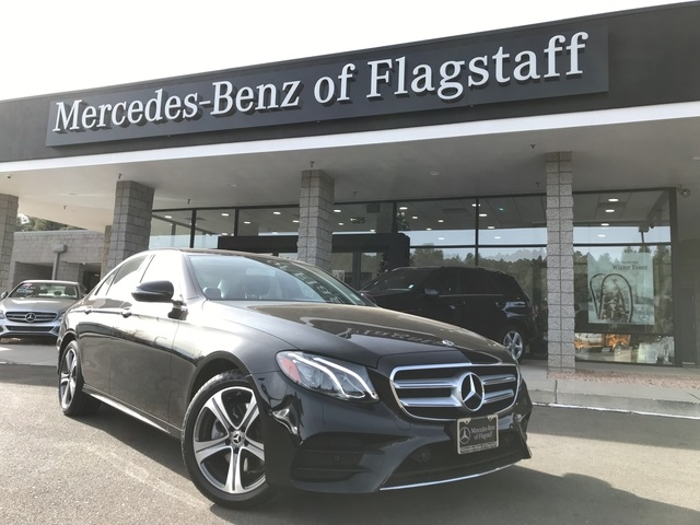 New 2018 mercedes benz e class e 300 sport sedan in for Mercedes benz of flagstaff